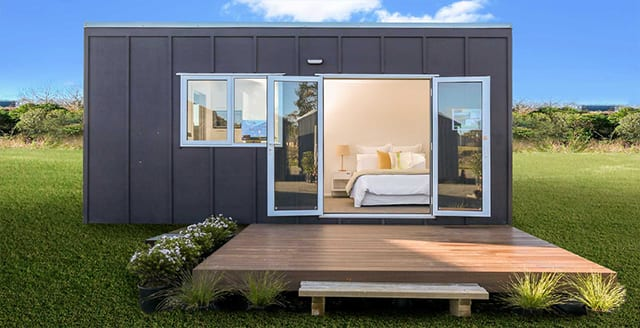 6 x 3 exterior with deck